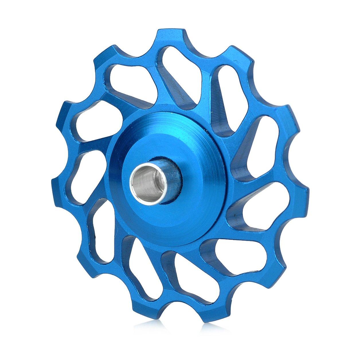 olSusバイク自転車11tアルミニウム合金ホイールRear Derailleur Pulley – ブルー B07DCQXRWR