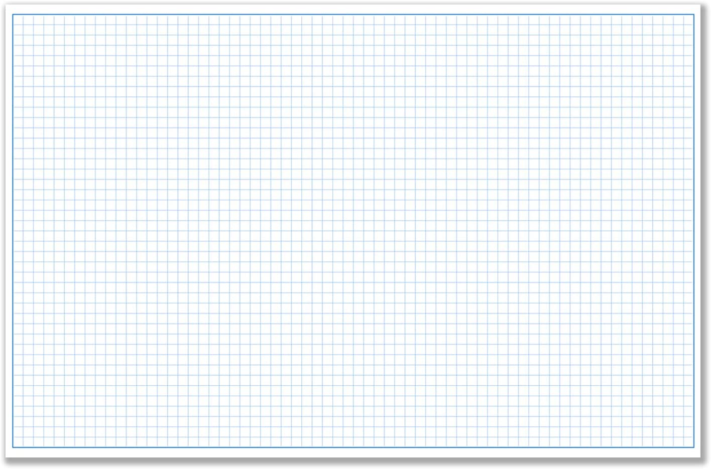 "11x17"" / Blueprint and Graph Paper (1 Pad, 50 Sheets Per Pad)"