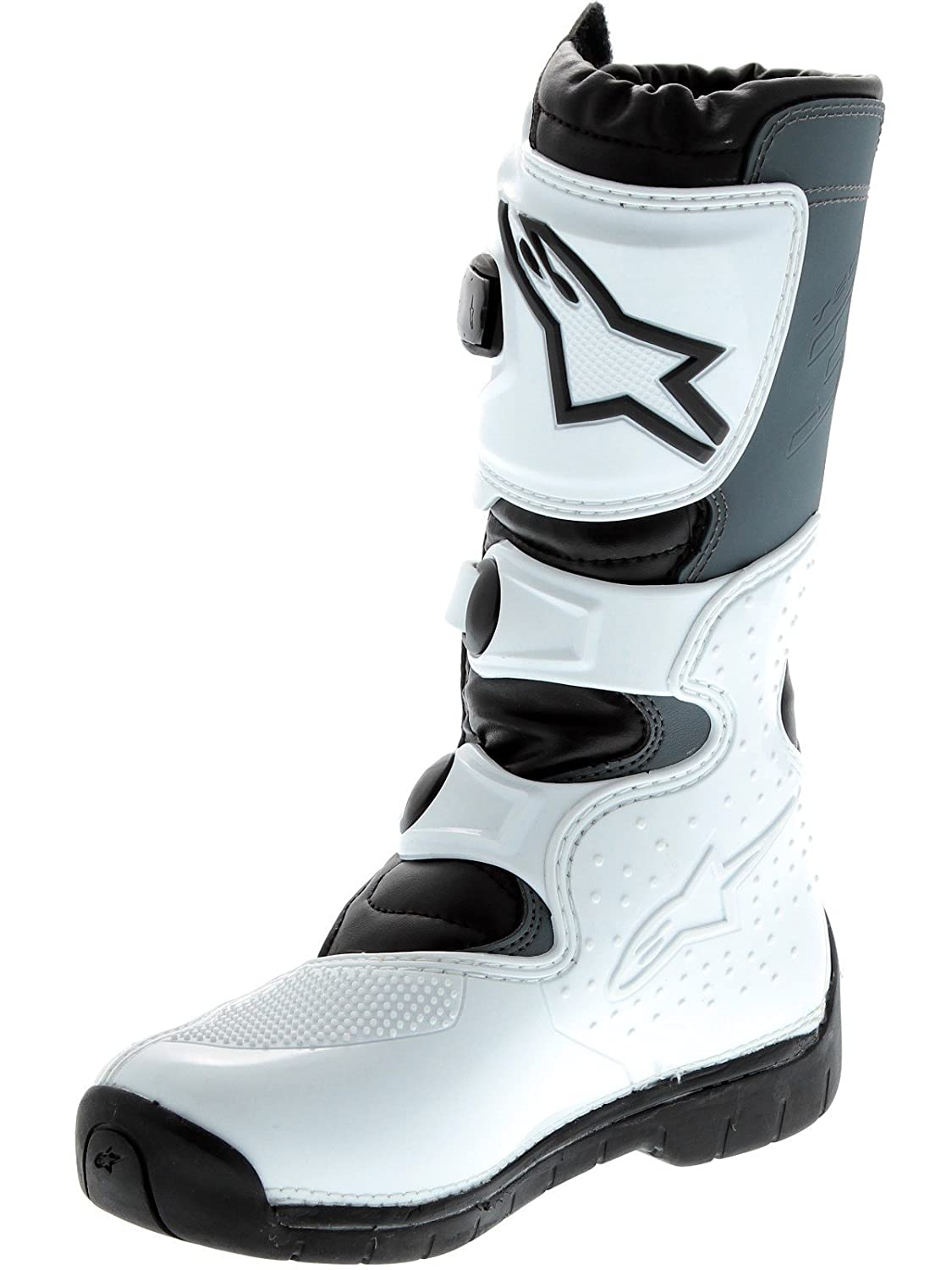 Alpinestars Youth Tech 3S Boots-Black//White-Y3