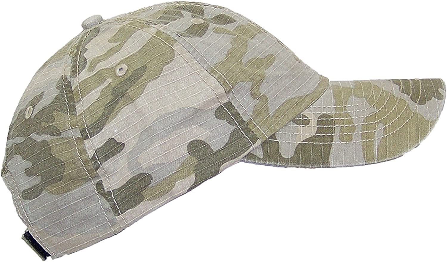 MG Unisex Unstructured Ripstop Camouflage Adjustable Ballcap