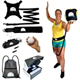 Volley Pro Premium Volleyball Rebounder & Serving Trainer.Solo Volleyball Spike Trainer for Indoor or Outdoor Spiking & Serve