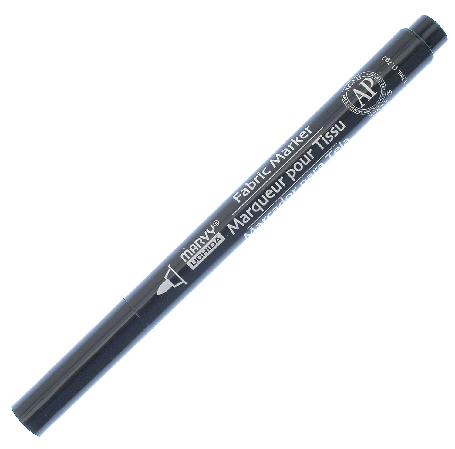 Uchida 522-C-1 Marvy Fine Point Fabric Marker, Black Uchida of America Corp