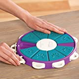 Nina Ottosson Dog Twister Advanced Dog Puzzle Toy - The Stimulating Treat Dispensing Game for Smart Dogs' Toy Boxes