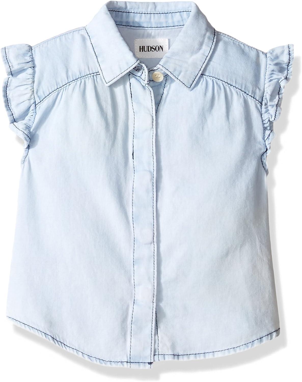 Hudson Girls Ruffle Shirt