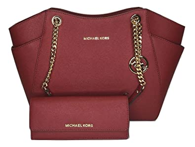 0a127c498e5 MICHAEL Michael Kors Jet Set Travel Large Chain Shoulder Tote bundled with Michael  Kors Jet Set