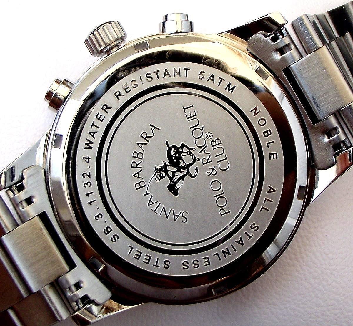 Santa Barbara Polo Racquet Club SB.3.1132.4 Reloj de Pulsera para ...