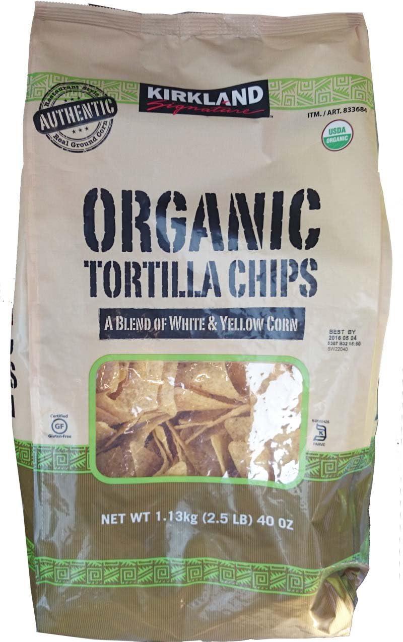 Kirkland Organic Tortilla Chips 1.13 kg (2.5 lbs)
