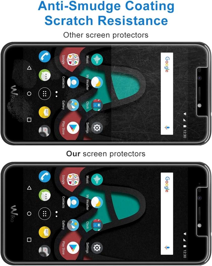 Phone Screen Protectors 100 PCS for Wiko Upluse Lite 0.26mm 9H Surface Hardness Explosion-Proof Non-Full Screen Tempered Glass Screen Film