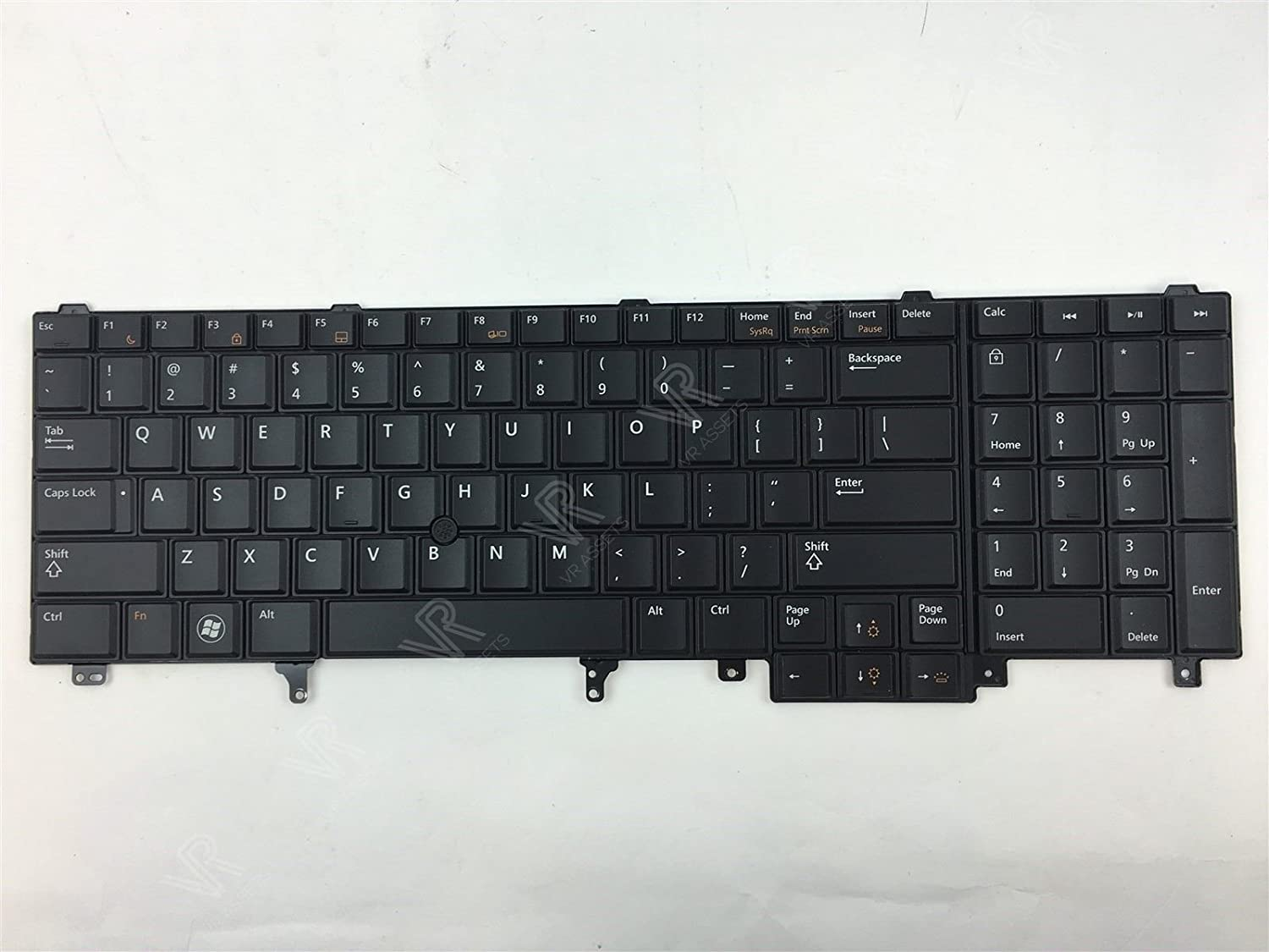 Dell OEM HG3G3 Backlit Black Keyboard Precision M4600 M6600 Latitude E6520 E5520