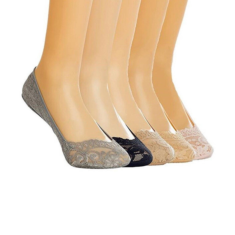 XIANOOER Calcetines cortos para Deportivas y Botines para Mujer, (Pack de 5) Socks Women Fashion Sneaker: Amazon.es: Ropa y accesorios