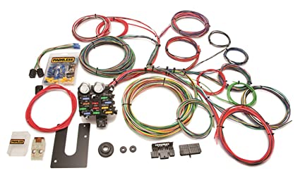 amazon com painless 10102 12 circuit universal streetrod harness rh amazon com universal wiring harness with gm column 22 Circuit Wiring Harness