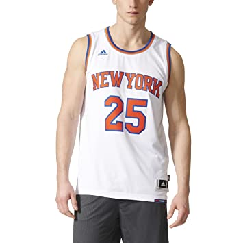 2350f6655 Adidas Men s New York Knicks Basketball Jersey  Amazon.co.uk  Sports ...