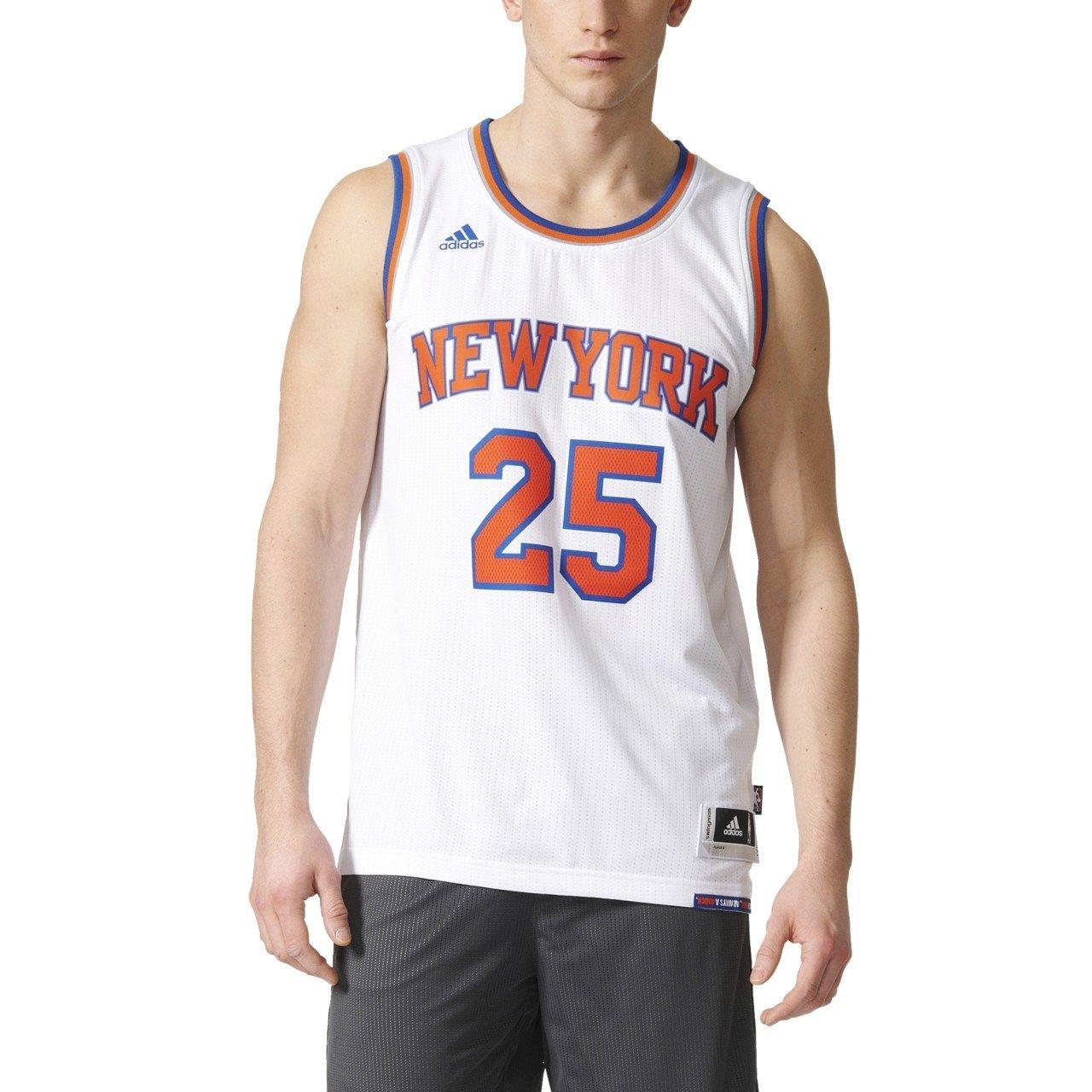 adidas Int Swingman Camiseta de Baloncesto New York Knicks, Hombre ...