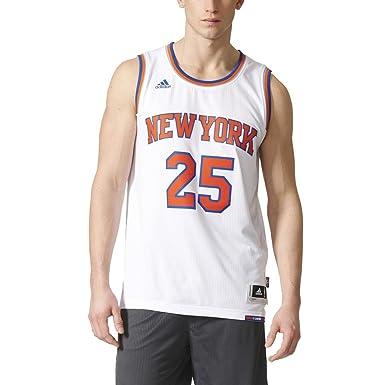 adidas Int Swingman Camiseta de Baloncesto New York Knicks ...