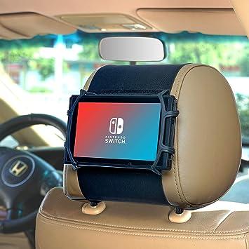 WANPOOL - Soporte Flexible para reposacabezas de Coche para Nintendo Switch & i Pad Air, iPad Mini y Otras tabletas: Amazon.es: Electrónica