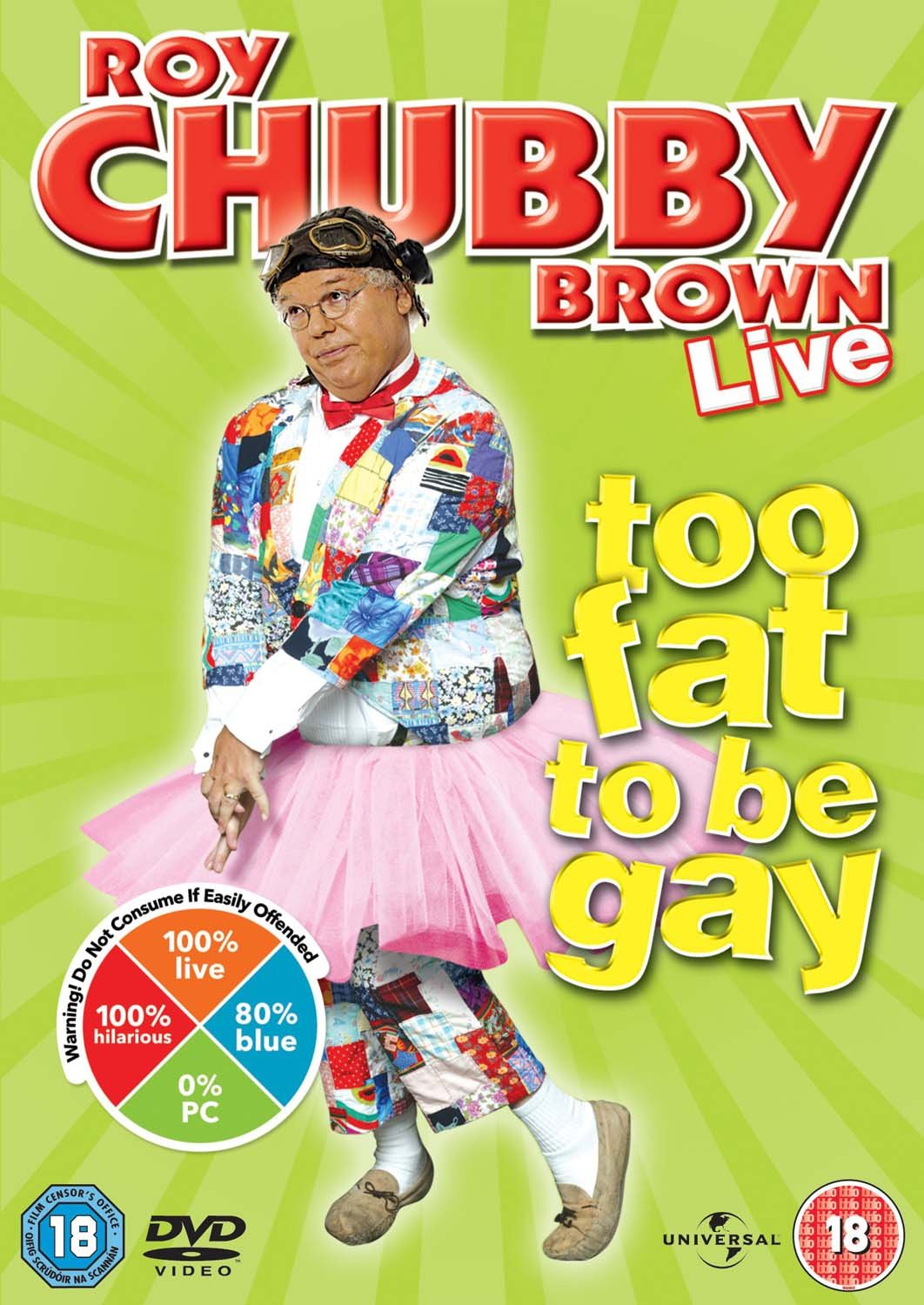 Roy Chubby Brown - Too Fat To Be Gay [DVD]: Amazon.co.uk: Roy 'Chubby' Brown:  DVD & Blu-ray