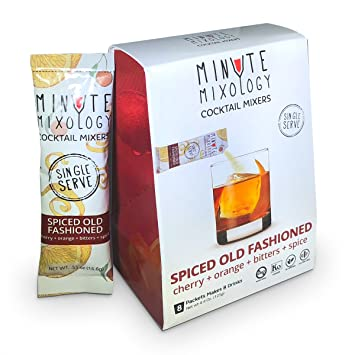 Amazoncom Minute Mixology Cocktail Mixers Low Calorie All