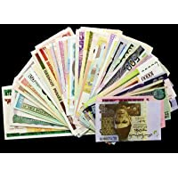 Gold Mint 15 Different Countries Original Foreign Currency Bank Notes Legal Money