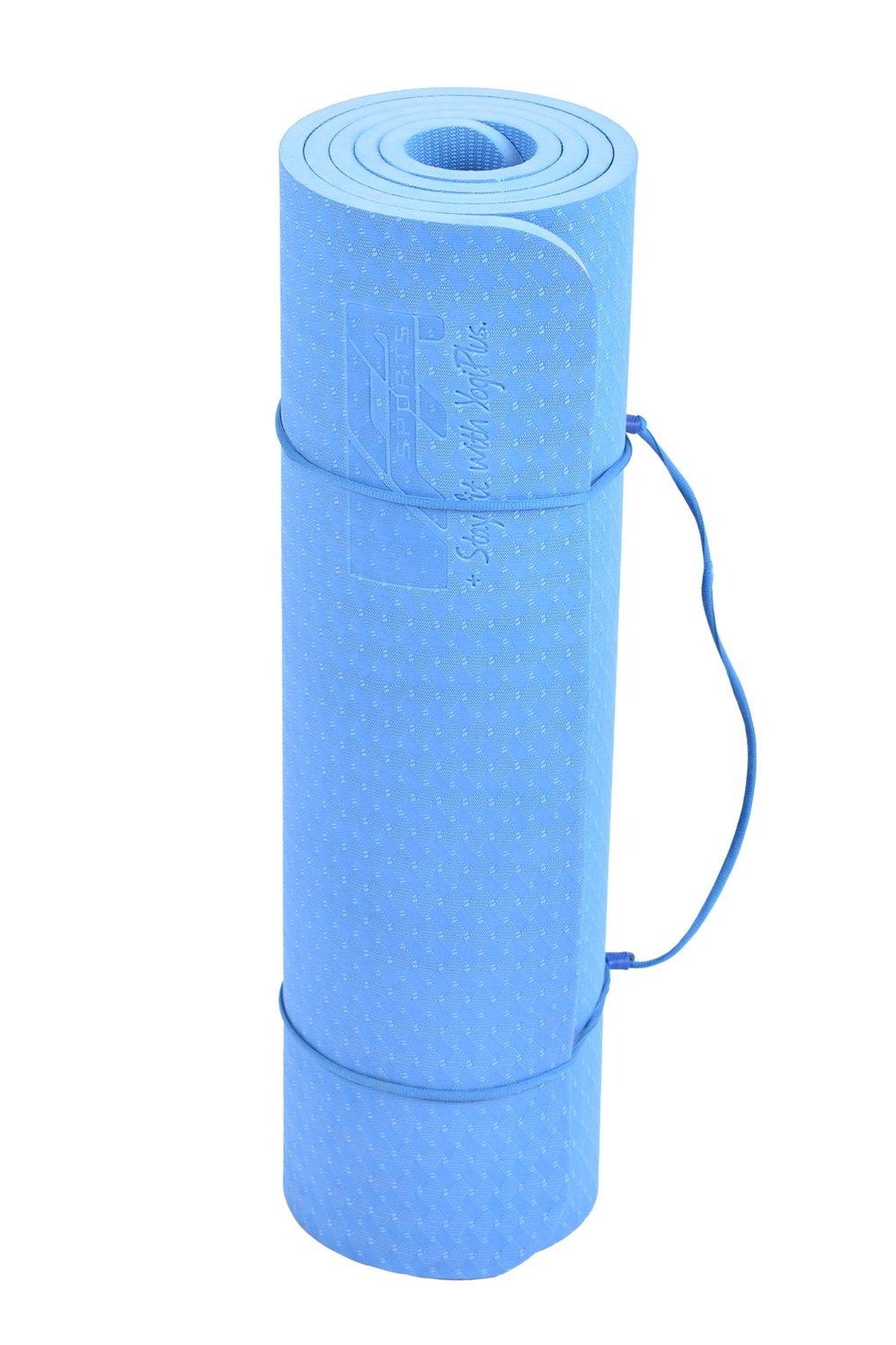 FA Sports Yogamatte Yogiplus Unilayer 183 x 61 x 1.2 cm