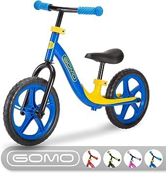 Bicicleta de equilibrio GOMO para niños de 18 meses, 2, 3, 4 y 5 ...