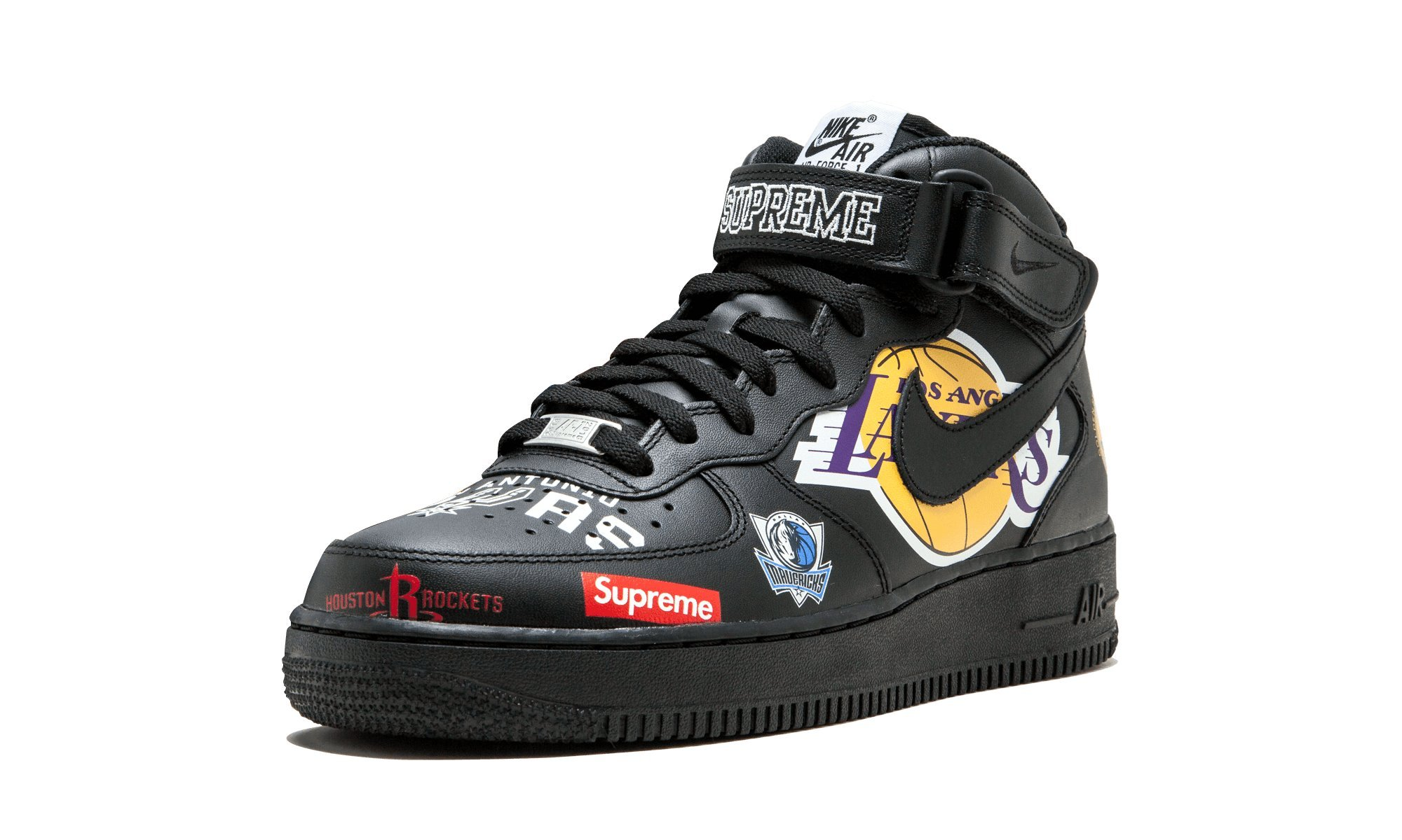 detailed look 1bd31 4f399 Galleon - Nike Air Force 1 Mid  07   Supreme - AQ8017 001