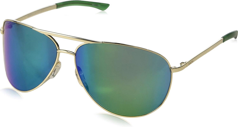 Smith Serpico 2 ChromaPop Sunglasses, Gold, Sun Green Mirror Lens