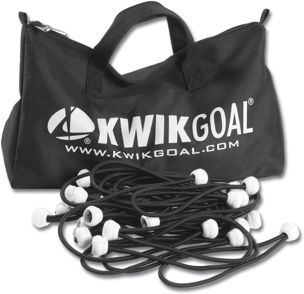 B006ZGSM3U Kwik Goal Deluxe Bungee Net Fastener, Pack of 180 (Black) 71N9ywcdvmL.SL1500_