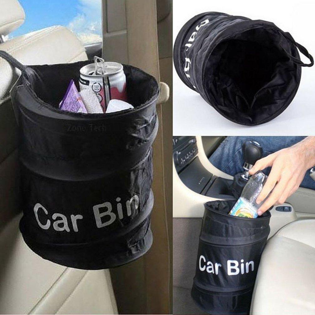 HENGSONG Car Bin Bag Garbage Trash Carry Bag Foldable & Waterproof Hanging Rubbish Bag Organizer Mei_mei9