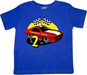 817e947d7 inktastic - Race Car 2nd Birthday Toddler T-Shirt 17bbf