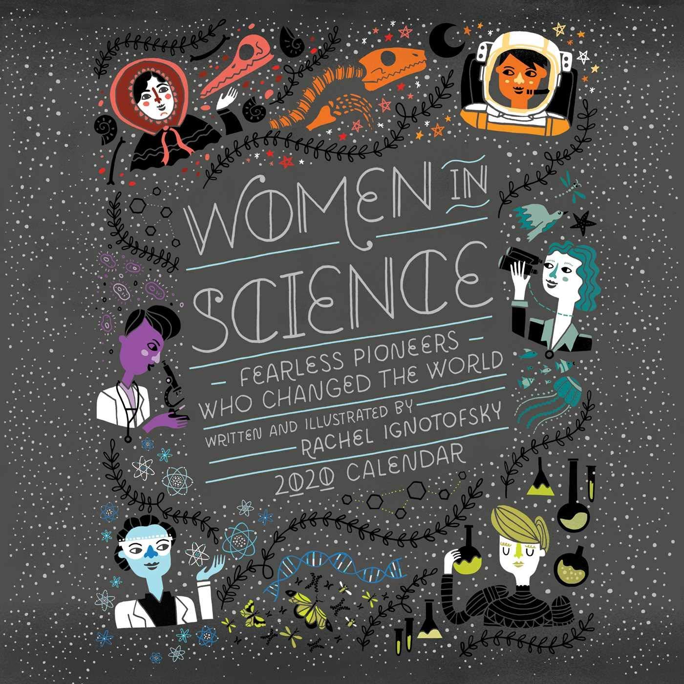 Nyt Best Sellers 2020.Women In Science 2020 Wall Calendar Rachel Ignotofsky