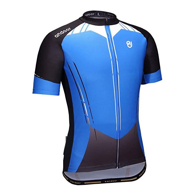 466d5fa1c Image Unavailable. Image not available for. Color  andoor Cycling Jersey  Men s Short Sleeves ...