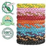 Bukm Mückenschutz Armband, 10 Stück Anti Moskito Mückenarmband Naturals Insektenschutz Anti Mücken Armband Repellent Armbänder für Outdoor und Indoor