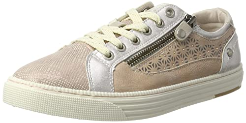 Mustang Side Zip and Metallic Details Mujeres Zapatillas: Amazon.es: Zapatos y complementos