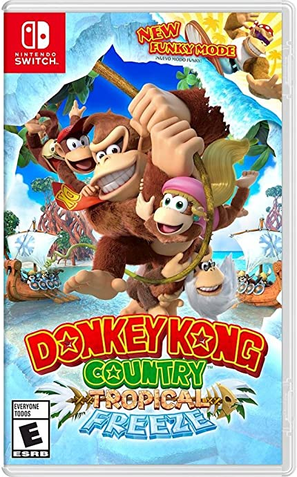 Amazon com: Donkey Kong Country: Tropic Freeze - Nintendo