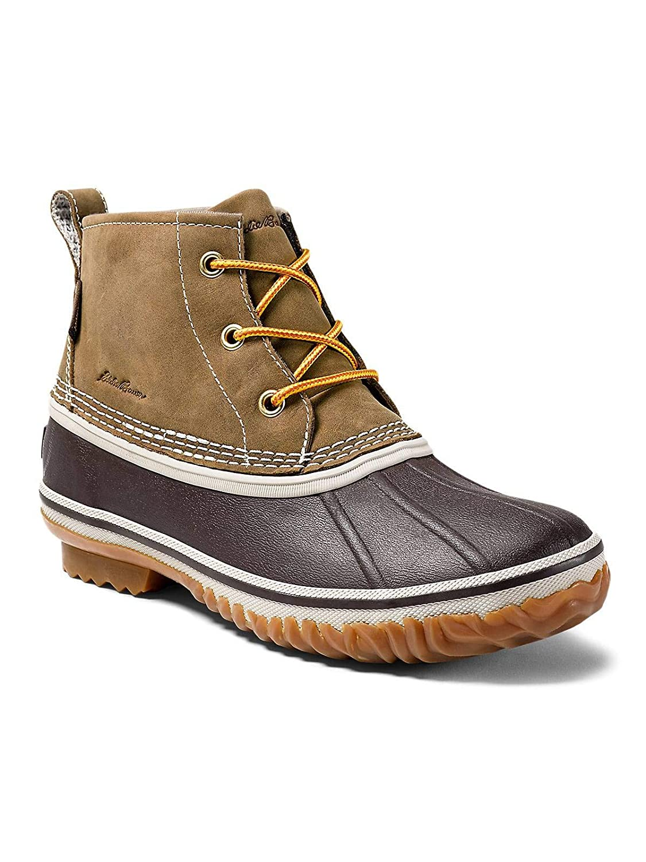 25c7617d31c0 Amazon.com  Eddie Bauer Women s Hunt Pac Mid Boot - Leather  Clothing