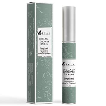 fa566e20014 Eclat Eyelash Growth Serum - Eye Lash Growth Serum with Power Peptides and  Natural Grape Extract