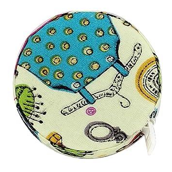 Baoblaze 1 Rollo de Cinta Métrica Flexible Creativo de 150cm Conveniente para Medir Accesorio para Sastre