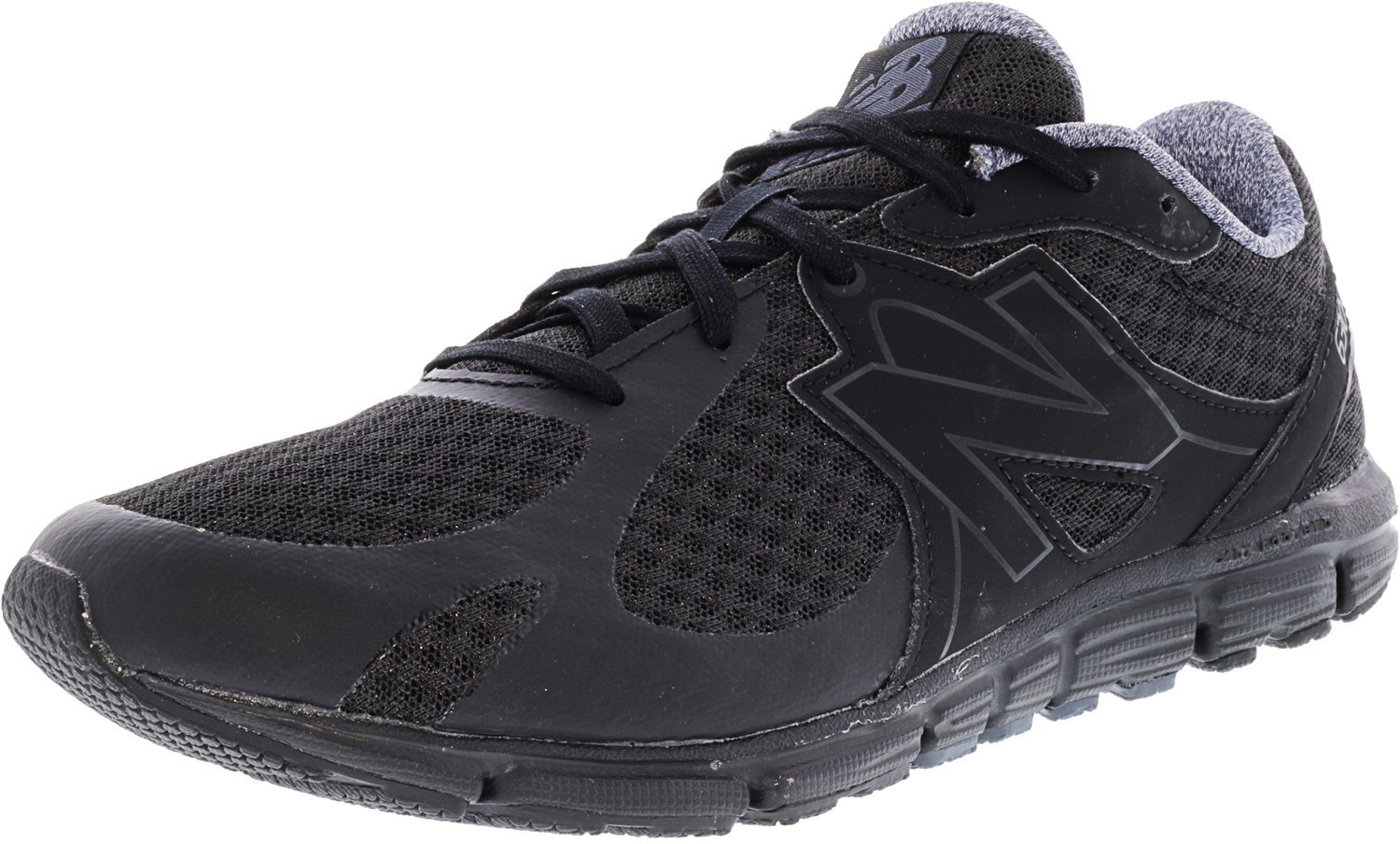 New Balance Women's 630v5 Flex Ride Running Shoe B01HGLHN6O 8.5 B(M) US|Black/Thunder