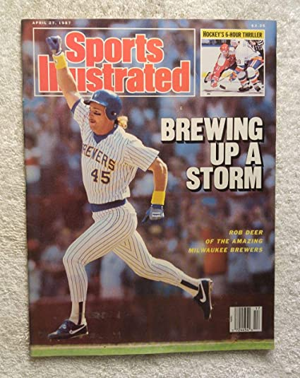 54b72e964 Rob Deer - Milwaukee Brewers - Sports Illustrated - April 27