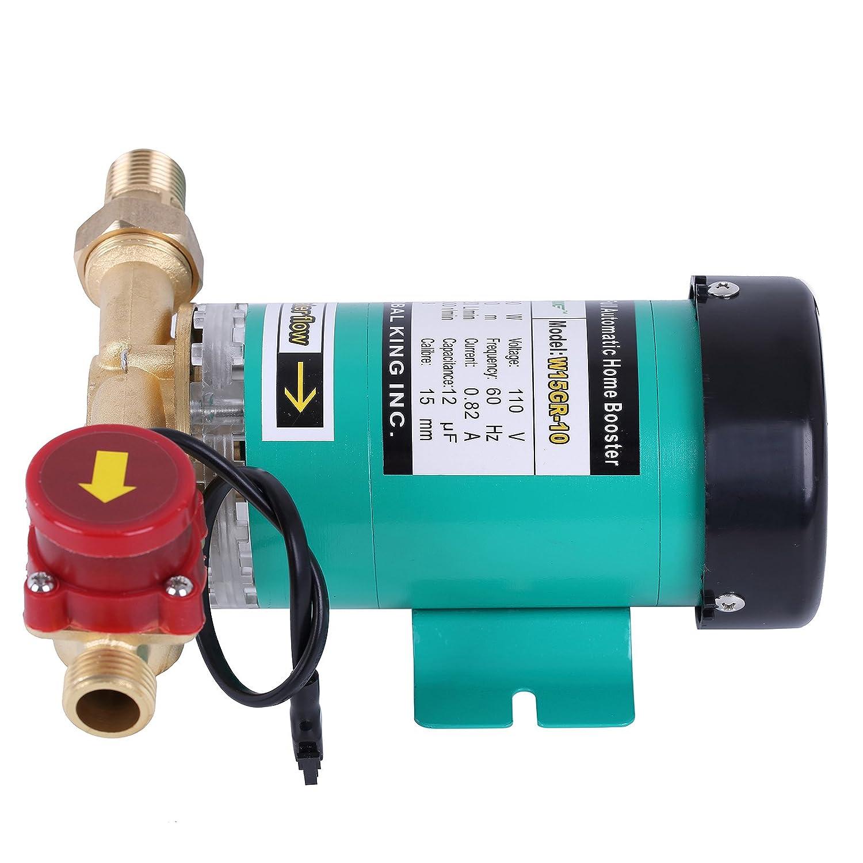 Amazon.com : BOKYWOX Water Pressure Booster Pump Booster Water Pump ...