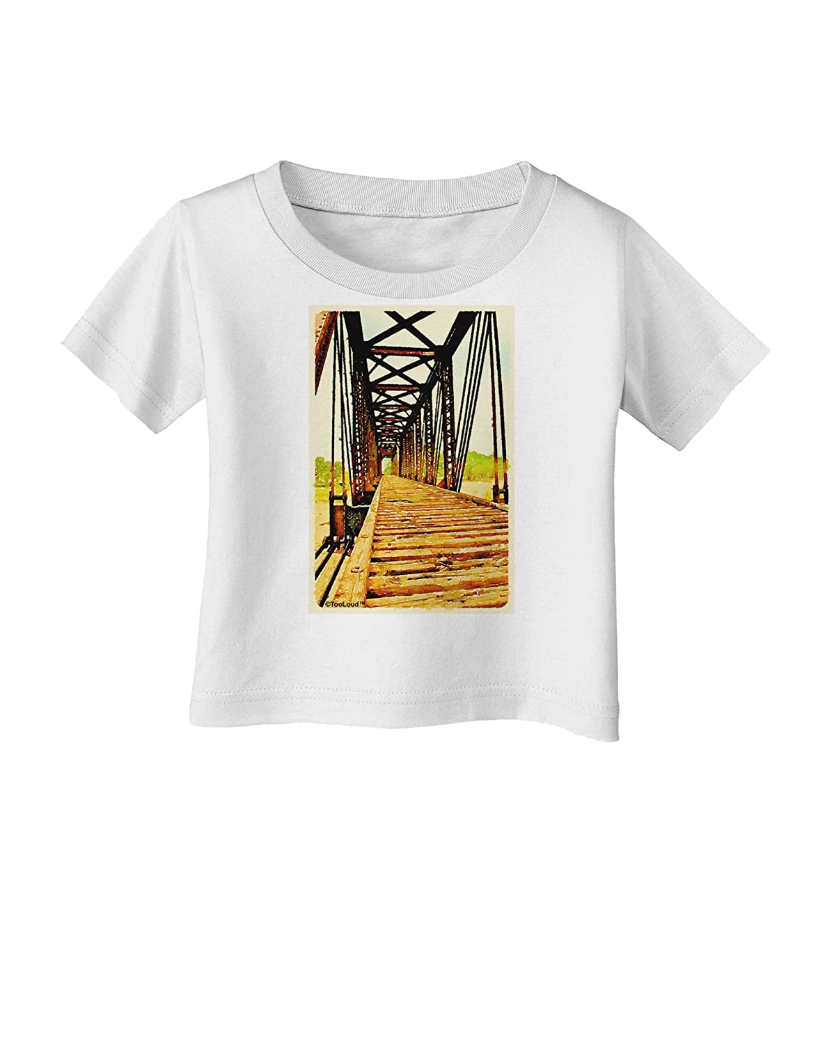 TooLoud Colorado Bridge Watercolor Infant T-Shirt