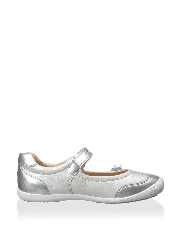 Zapatos de cordones para ni�a, color Plateado , marca GEOX, modelo Zapatos De Cordones Para Ni�a GEOX J GIOIA B Plateado