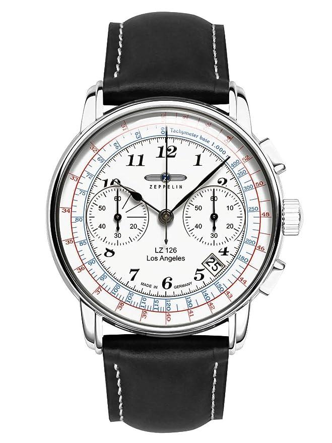 Angeles Zeppelin Herren 7614 Lz126 1Uhren Chronograph Los ULMGzpjqSV