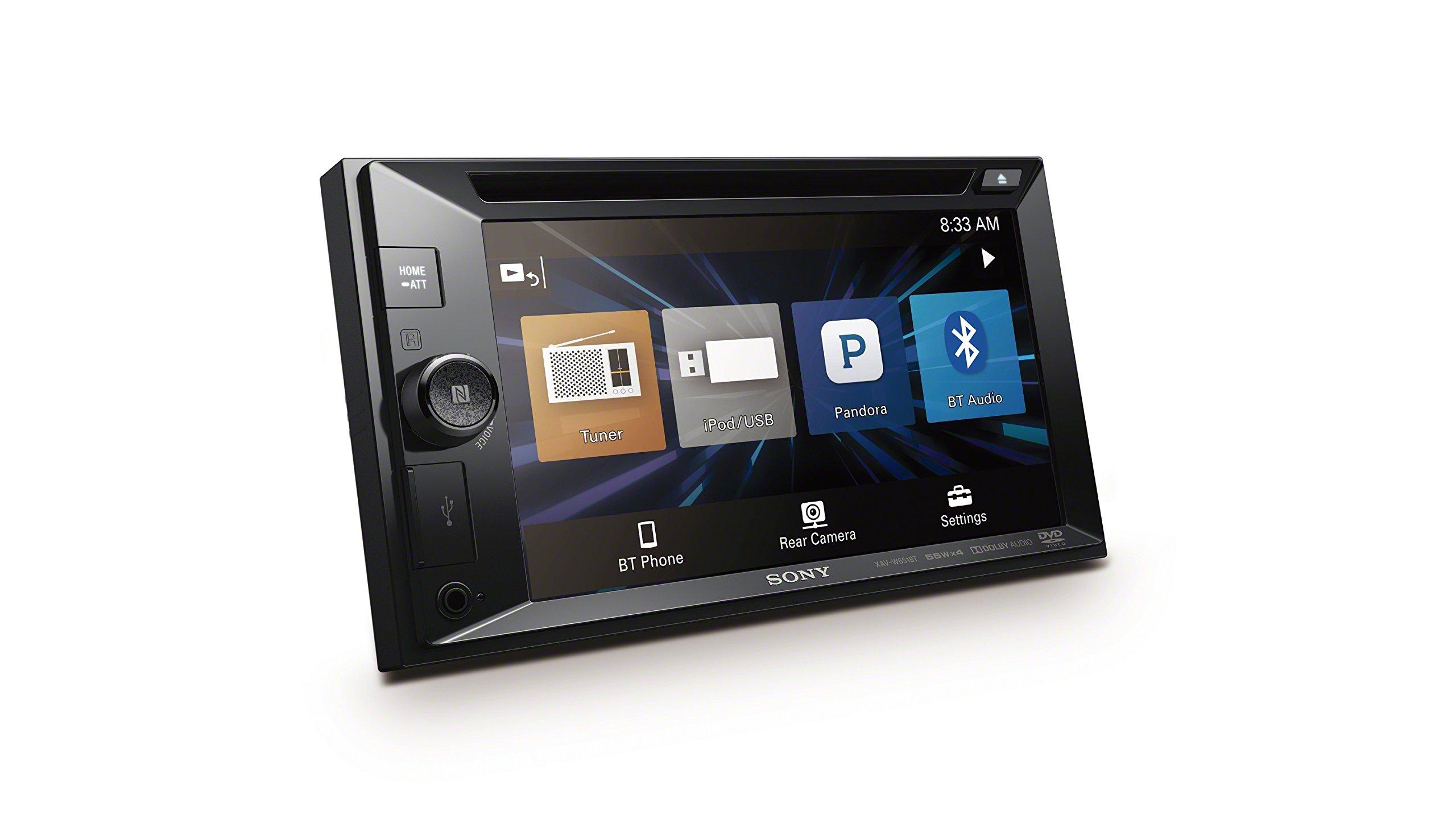 Sony XAV-W651BT 6.2 Inch LCD DVD Receiver by Sony (Image #2)