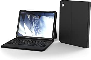 """ZAGG Messenger Folio - Bluetooth, Tablet Keyboard and Case - Made for Apple iPad Pro 11"""" - Black (103002112)"""