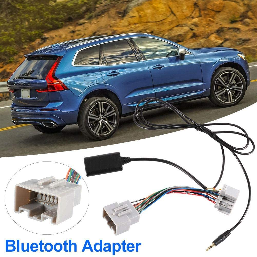Blue.Tooth Audio Cable Bluetooth Audio Cable for Volvo Car Bluetooth Adapter AUX Cable