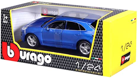 Amazon.com: Bburago Porsche Macan Diecast Vehicle (Colors May Vary/1:24 Scale): Toys & Games