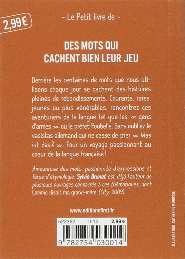 Fabuleux Amazon.fr - Petit Livre de - Les Mots aux origines étonnantes  OJ19