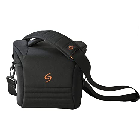 The Shooter Family STSH-L-001 - Bolsa para cámara Reflex, Negro ...