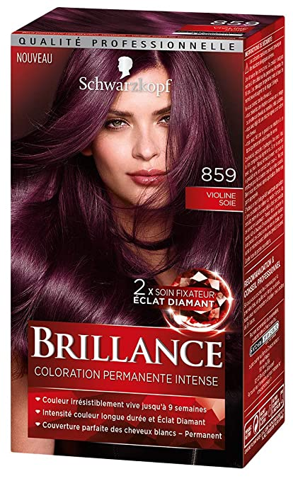 Schwarzkopf Brillance Coloration Cheveux Permanente Intense